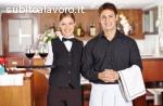 Barista, camerieri, aiuto cuoco